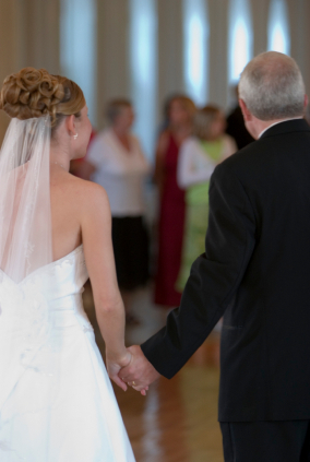 Father of the bride plays a key role in his daughters wedding day